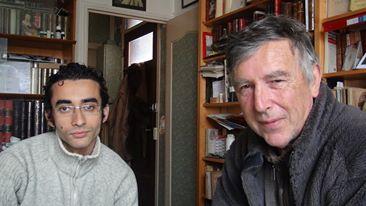 Avec Michel Bigner, Paris, 2013.