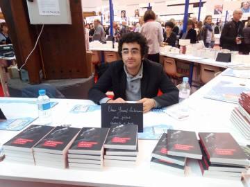Signature Loin de Damas, Salon du livre, Brive, 2016.