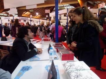 Salon du livre, Brive, 2016.