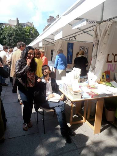 Avec Myriam Montoya, Mmarché de la poésie, 2016;